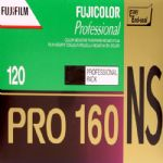 Fuji Pro 160NS 120 Roll Colour Print Camera Film